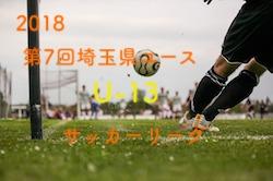 2018年度 第7回埼玉県ユース(U-13)サッカーリーグ 優勝はC.A. ALEGRE!