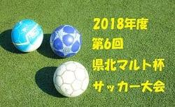 2018年度 第6回 県北中学生マルト杯サッカー大会(茨城県)組合せ掲載!12/22,23,24開催!