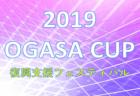 2019 OGASA-CUP(U-14) 復興支援フェスティバル【茨城県】優勝はOGASA FC 40!