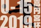 【広島県】2019高円宮杯U-15サッカーリーグ HiFAユースリーグ結果速報!1/19.20!