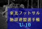 2018年度 東北フットサル施設連盟選手権(U-10)<フットメッセ仙台長町予選>1/20結果速報!情報お待ちしております!