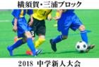 2018年度 第43回神奈川県選抜少年サッカー大会《さわやか杯》 優勝は横浜A選抜! 情報ありがとうございます!