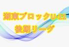 2018年度 関東トレセンリーグU-16 サテライトカップ 優勝は群馬県トレセン!