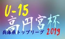 全結果更新5/18 次節6/9 U-15兵庫県トップリーグ | 高円宮杯JFAU-15サッカーリーグ2019兵庫県トップリーグ