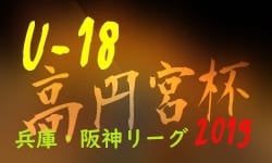 高円宮杯U-18サッカーリーグ2019 阪神リーグ【兵庫】 7/20,21結果更新 次戦は7/24