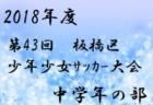 2018年度 第43回板橋区少年少女サッカー大会 高学年の部【東京】優勝は九曜FCジュニア A!試合結果情報お待ちしています!