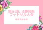 2018年度 第16回U-12静岡県フットサル大会 中部支部予選 1/19開幕!