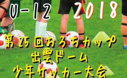 2018年度第26回おろちカップ出雲ドーム少年サッカー大会U-12【島根県】