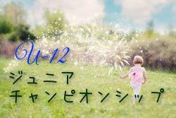 2018年度 第9回香川県ジュニアチャンピオンシップ【U-12の部】優勝はDESAFIO!