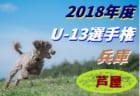 2018年度 第21回兵庫県中学生(U-13)サッカー選手権大会 芦屋予選 1/19決勝 15:30~キックオフ!情報提供お待ちしています!