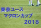 2018年度 東京ユース マクロンカップ2018  優勝は東京ヴェルディユース!