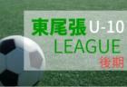 2018年度  愛知 東尾張地区リーグU-10(後期)A・C2ブロック更新!1/19-20情報お待ちしています!