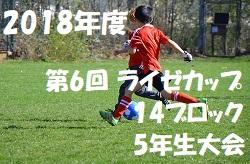 2018年度 第6回ライゼカップ  14ブロック5年生大会【東京】 優勝はJACPA!