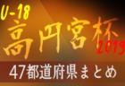 【2019年度高円宮U-18リーグ】昇格をかけての軌跡【47都道府県別】