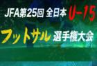 2018年度 第2回U14フットサル鳥取県大会 優勝は鳥取KFC!結果掲載!