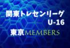 2018年度九州トレセンU12ファイナル 参加選手メンバー掲載!!
