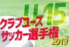 優勝は石川FC 2019JFAバーモントカップ北中頭地区大会