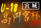 2019年度 高円宮杯JFA U-15サッカーリーグ2019埼玉 兼 第12回埼玉県ユース U-15リーグ 1部優勝はクラブ与野!12/7結果速報!