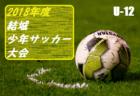 高円宮杯 JFA・U-15サッカーリーグ2019 第11回北信越リーグ 組み合わせ掲載!4/7開幕!