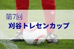 2018年度 第7回 刈谷トレセンカップ(愛知県)U-11、U-10ともに刈谷市トレセンが優勝!