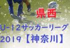 第5回 JFA U-12サッカーリーグ2019 神奈川 県西地区 後期 10/20 Bブロック最終節結果更新!Cブロックは延期!