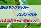 日本高校サッカー選抜メンバー・スケジュール発表! 静岡ヤングサッカーフェスティバル(3/8~3/10@静岡)
