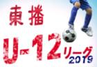 6/16結果募集  Jリーグ U-14 メトロポリタンリーグ | 2019Jリーグ U-14 メトロポリタンリーグ 関東