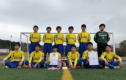 2018年度 和歌山県中学校サッカー新人選手権大会 優勝は紀之川中学校!