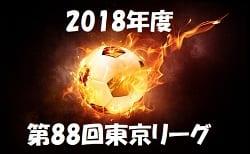 2018年度 第88回東京リーグ リーグ戦表入力お待ちしています!