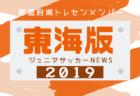 2019年度U-12MASAYA杯 第29回沼津少年サッカー大会(静岡)組合せ掲載!3/7.8開催