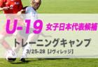 2019年度 福岡県U-15トレーニングセンター1次候補選手決定のお知らせ!