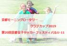 2018-2019 第9回 千葉県ユース(U-13)サッカーリーグ<2部リーグ>優勝はアーセナル、ラルクB!3部更新中!