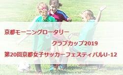 2018年度 第20回京都女子サッカーフェスティバルU-12 結果速報!情報頂きました!