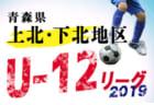 高円宮杯JFA 2019年度 第12回 山梨県ユース(U-15)サッカーリーグ  結果速報!3/30,31