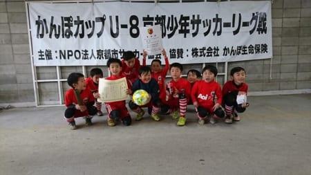 2018年度 かんぽカップU-8チャレンジトーナメント(京都府)優勝は京都葵FC!