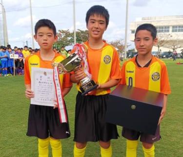 第25回テンタ杯うるま市少年サッカー大会 優勝は高江洲FC!