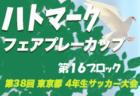 2019年度 京都サッカースポーツ少年団連盟チャレンジカップU-11 in高島 優勝は西京極JSC!