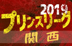 2019年度高円宮杯 JFA U-18サッカープリンスリーグ関西 第9節7/15,17結果掲載!次節は8/24
