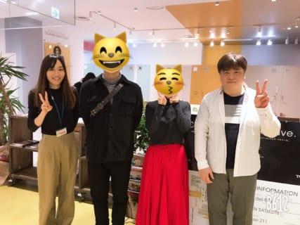 ライターの伊海智裕さんが福岡本社に遊びに来てくれました