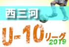 2019年度 JA全農杯チビリンピック2020 小学生8人制サッカー大会 伊都ブロック予選(和歌山県)優勝はH.L.Pデポルターレ和歌山!