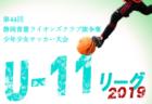 2019年度 第16回香川県中西讃地区ジュニアサッカー連盟杯 2年生サッカー大会 優勝は丸亀FC
