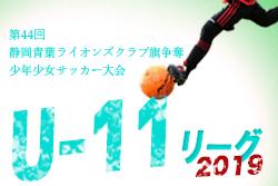 第2節5/19結果速報 青葉リーグU-11 | 2019年度 第44回静岡青葉ライオンズクラブ旗争奪少年少女サッカー大会