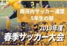 U-9トヨタ新茨城 優勝は、FCLAZOS  | 2019年度 第24回トヨタカローラ新茨城カップ争奪少年サッカー大会U-9