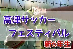 2018年度 第20回 高津サッカーフェスティバル(U-11)3/24結果速報!