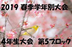 2019 春季学年別大会 4年生大会 第5ブロック【東京】3/17結果掲載!次回3/21!