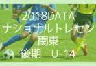 【トレセン分析】2018年度ナショナルトレセン後期(U-14)東北