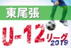 2019年度 第31回JA東京カップ 5年生大会 第6ブロック予選 優勝は三菱養和SC巣鴨Jr!