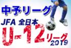 2019年度 第10回全日本女子U-15 フットサル選手権 愛知県大会  優勝は名古屋FCルミナス アルマ!