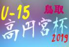 2019年度 第63回東京都中学校サッカー新人戦 第6支部 江東区予選 組合せ決定!9/28より開催