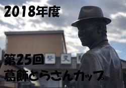 2018年度 第25回葛飾とらさんカップ【東京】 優勝はFCアビリスタ!